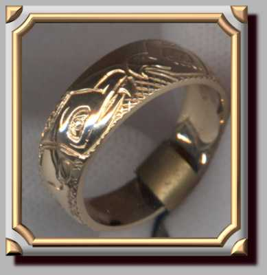 Eagle Wolf Ring