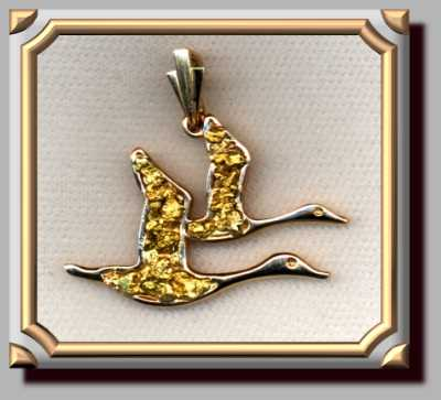 Geese Pendant